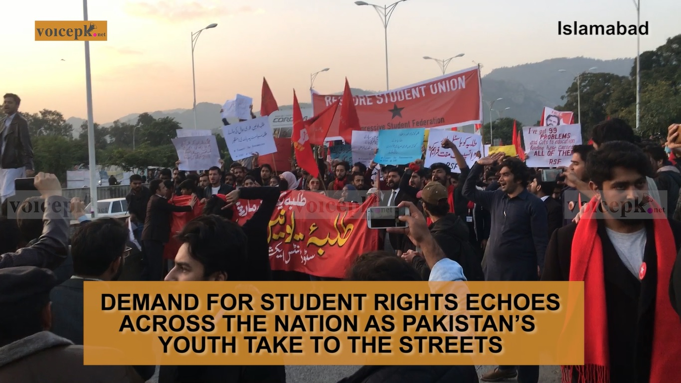 Student Solidarity March in Islamabad