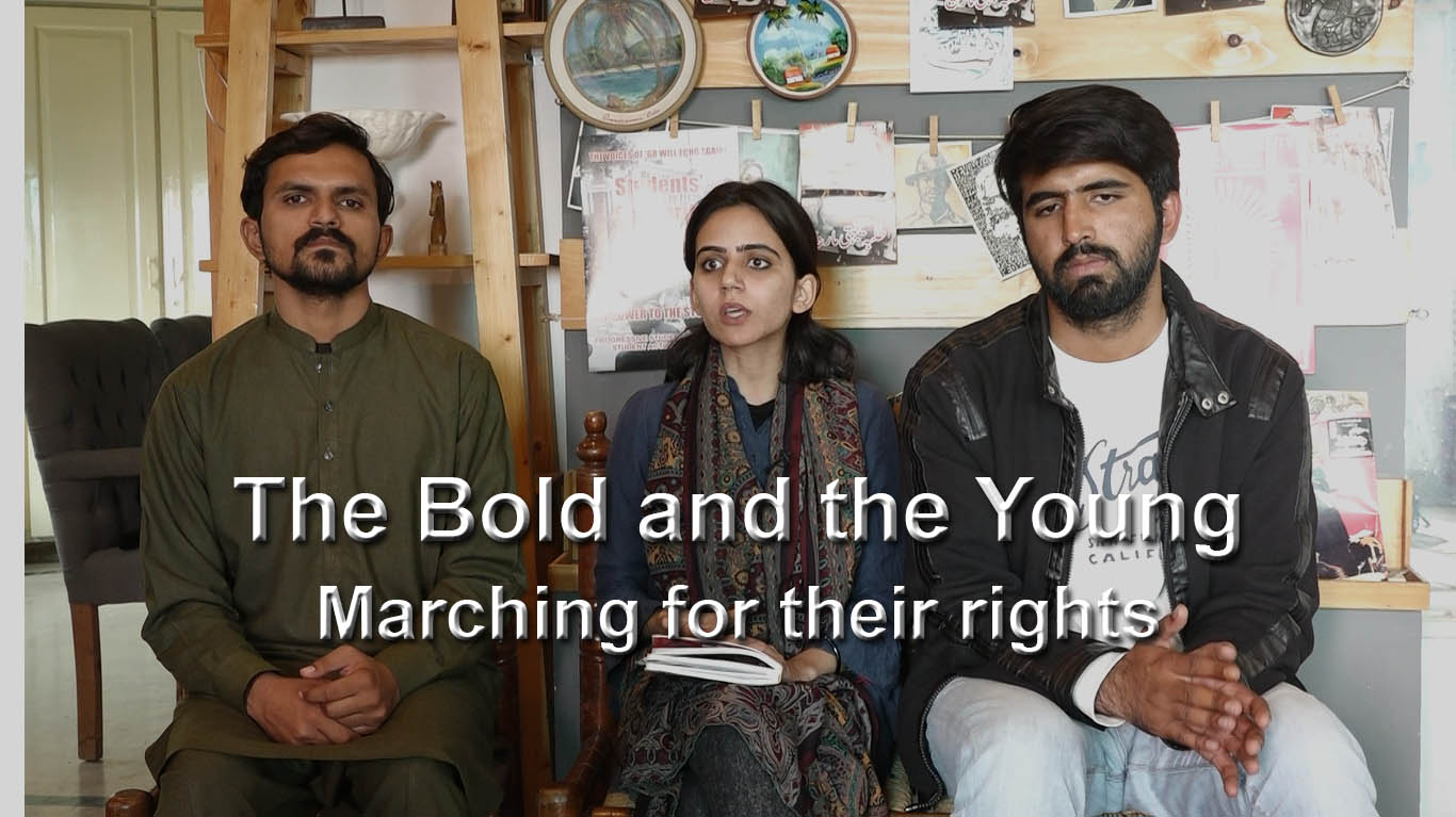 The Bold and the Young: Marching for their rights