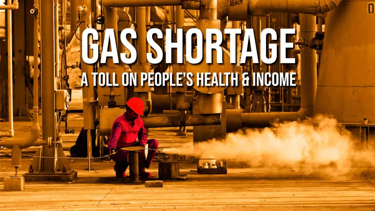 Gas Shortage: A Toll on People's Health & Income