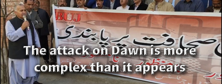 The attack on Dawn is more complex than it appears