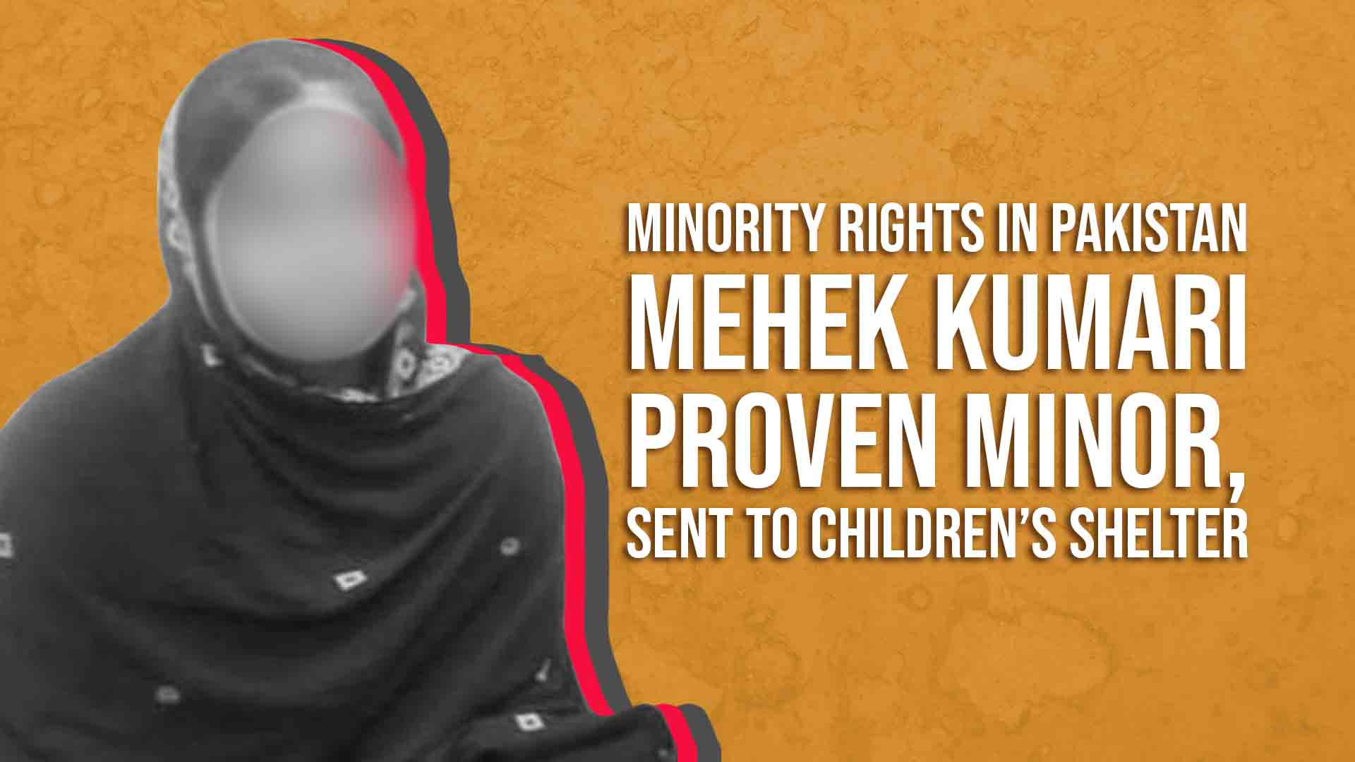 Minority Rights in Pakistan: Mehek Kumari