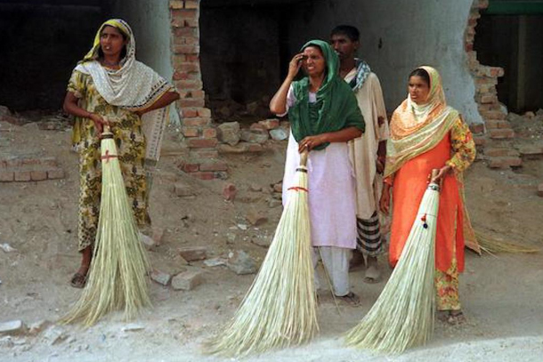 women sanitary workers lahore
