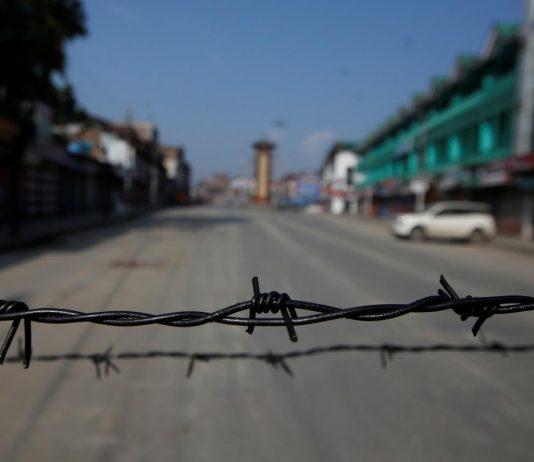 Kashmir through barbed wires