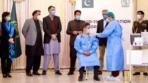PIMS doctor becomes first to receive Sinopharm shot