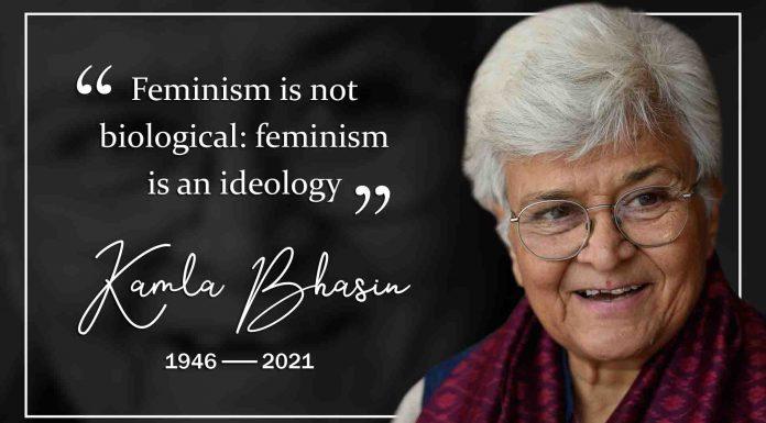 Trailblazing Indian feminist icon Kamla Bhasin passes away