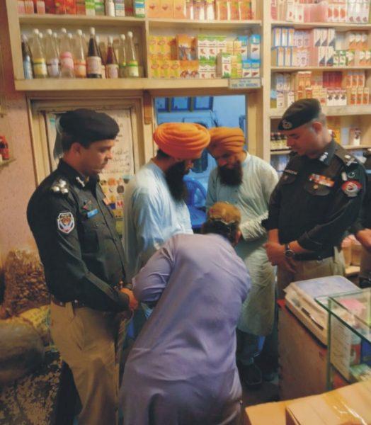 IG visits Satnam's shop
