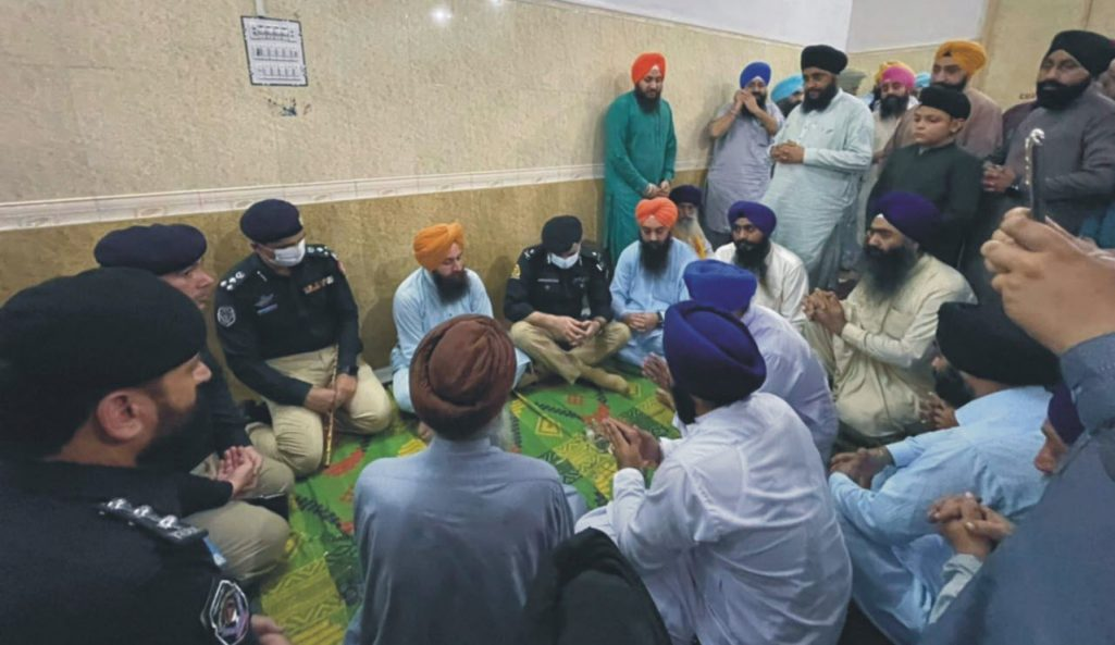 IG Police visits Singh's family